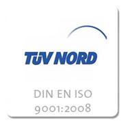 TÜV NORD - DIN EN ISO 9001:2008
