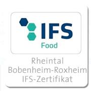 Rheintal-Bobenheim-Roxheim-IFS-Zertifikat