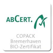 COPACK-Bremerhaven-BIO-Zertifikat